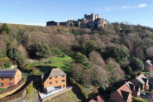 The house sits in the shadow of Dover Castle. Picture: Zoopla / Miles and Barr