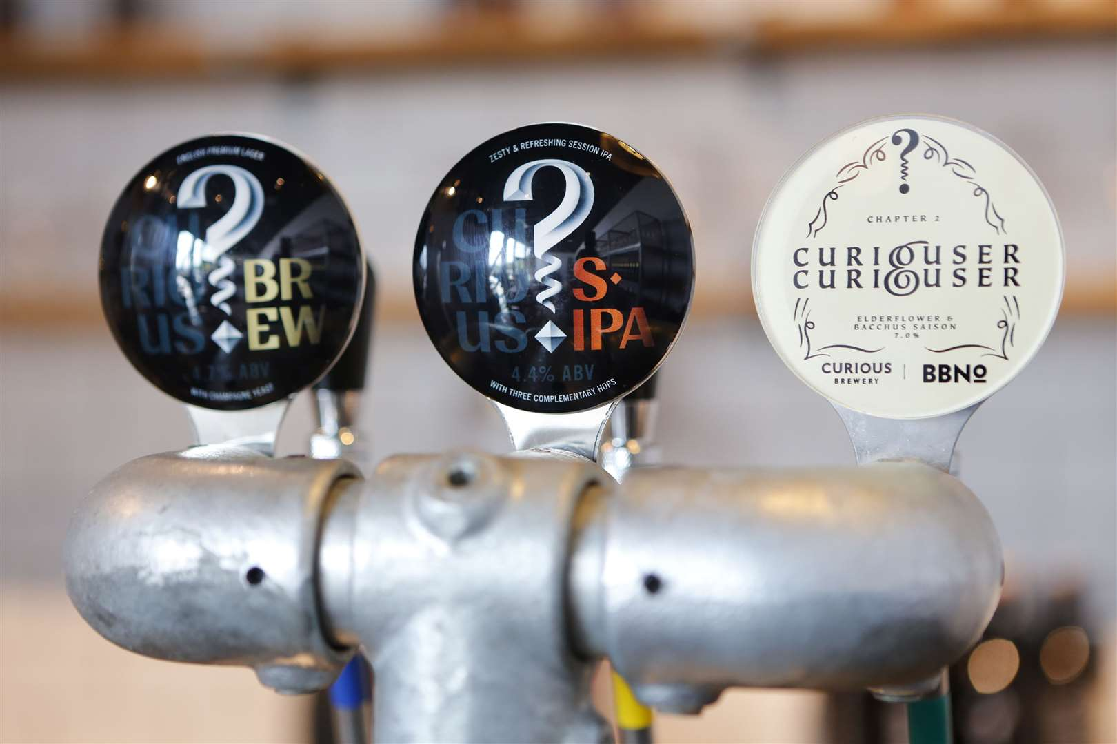 The facility will allow Curious Brew to experiment with new drinks. Picture: Andy Jones