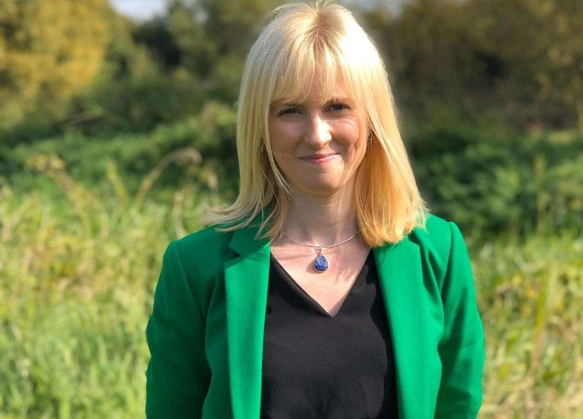 Rosie Duffield became embroiled in a twitter spat. Picture: Suzanne Bold/The Labour Party