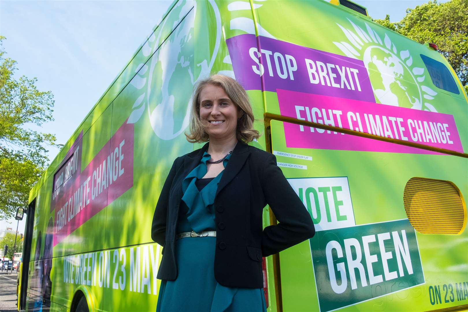 Green Party candidate for the 2019 European elections Alexandra Phillips. Picture: JJ Waller (10826436)