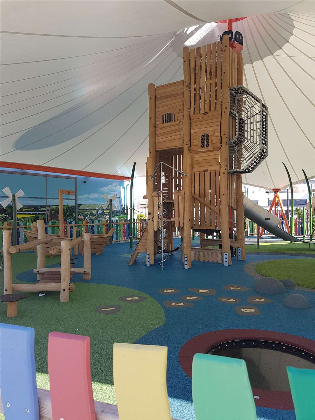 The state-of-the-art play park cost £400,000 to build. (13340088)