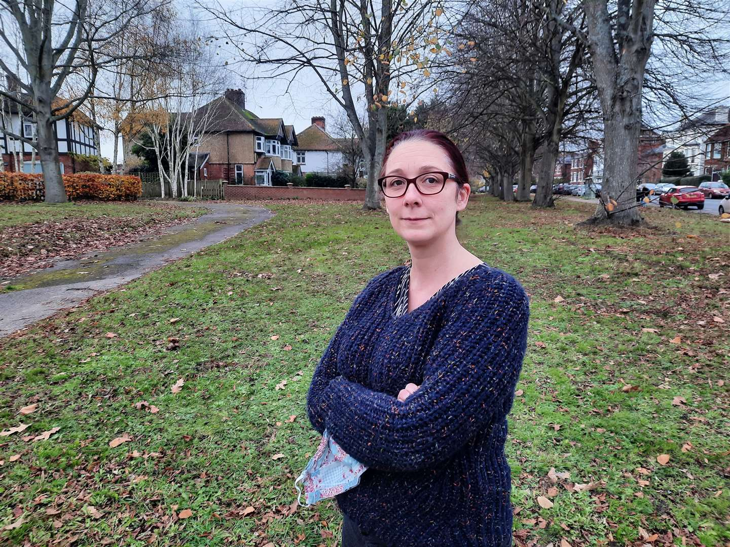 Westgate Court Avenue resident Sophie McCallum is opposed to the plans