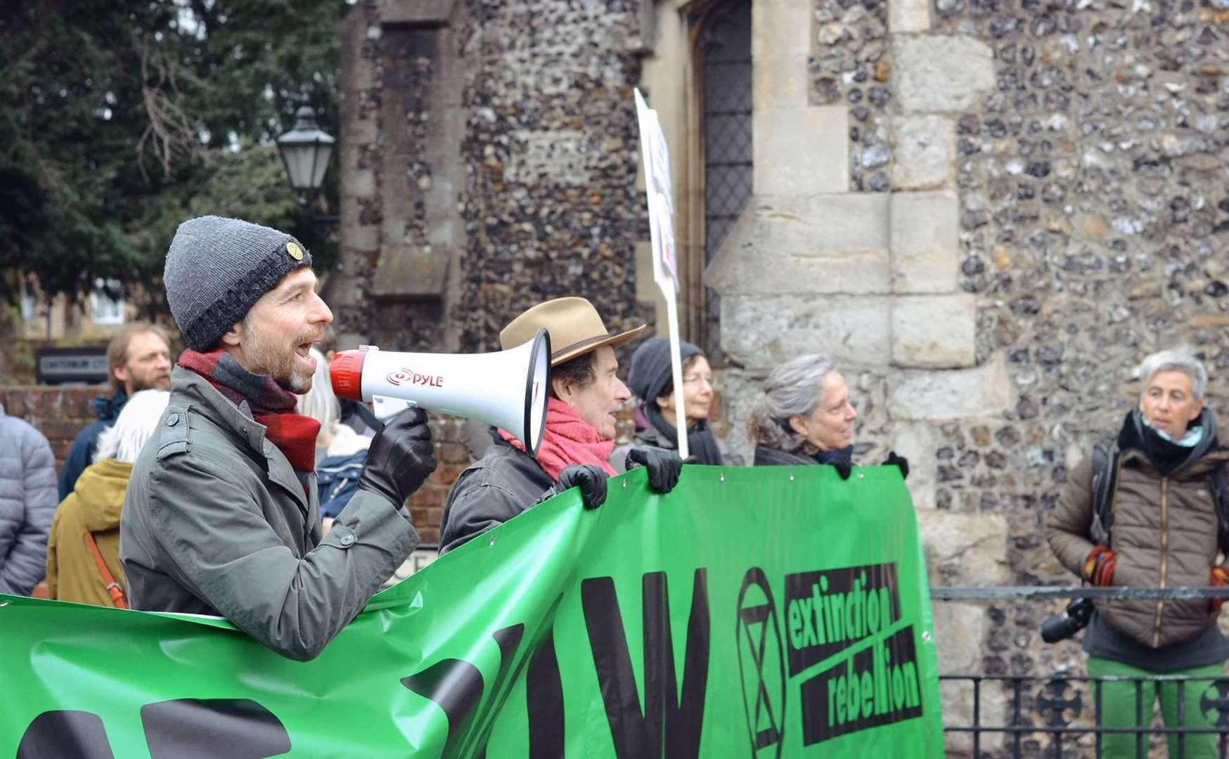 A previous Extinction Rebellion protest. Picture: Extinction Rebellion Canterbury