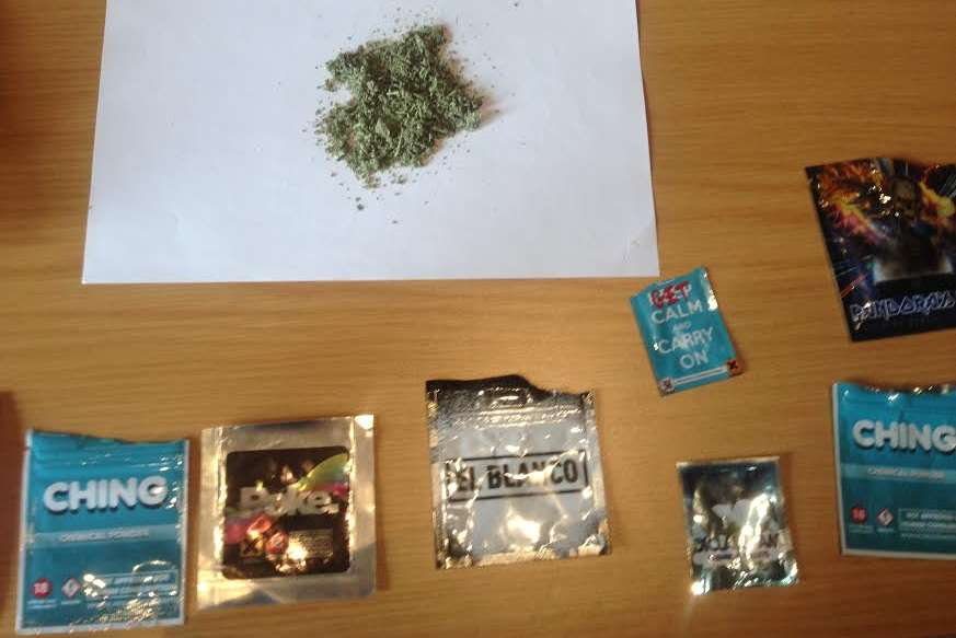 Legal highs are a growing problem