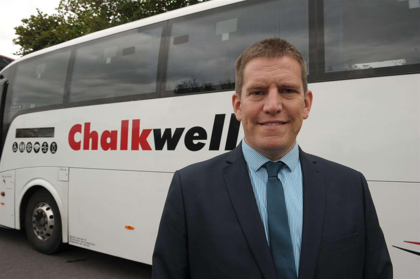 Roland Eglinton of Chalkwell Coach Hire