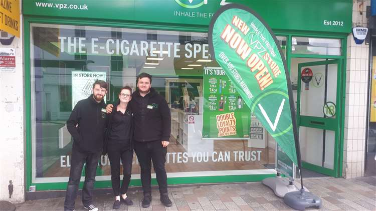 VPZ vape shop opens in Maidstone Town Centre