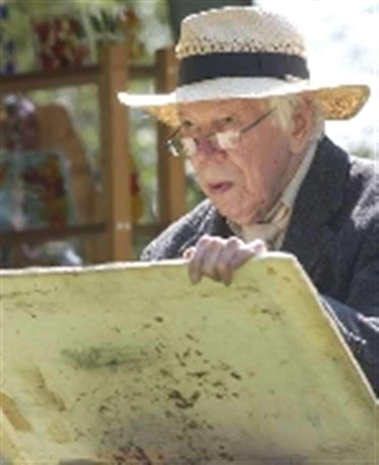 Final farewell to admired artist John Ward