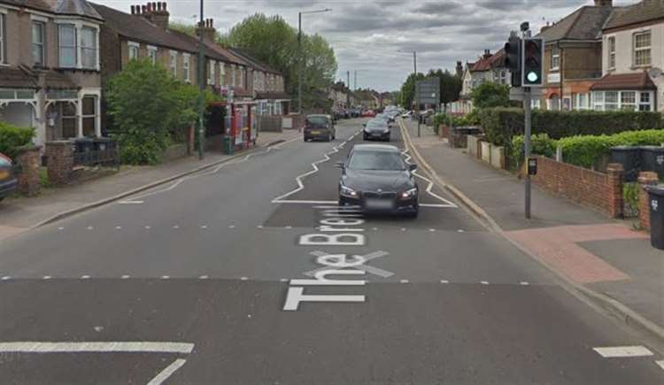 The Brent in Dartford partially closed after four car crash on