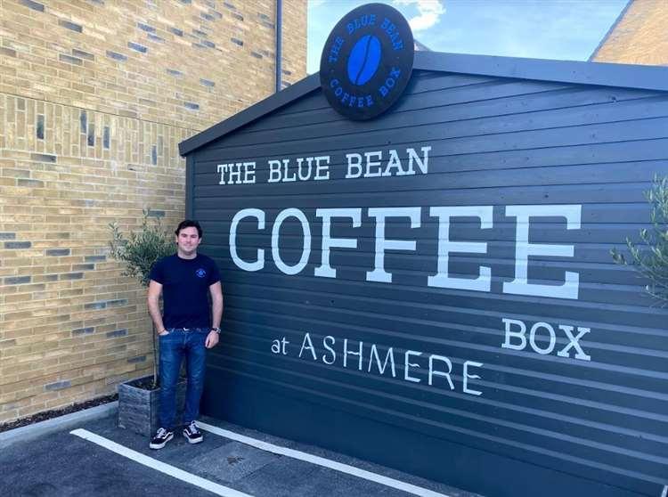Sam Bott, owner of Blue Bean Coffee Company