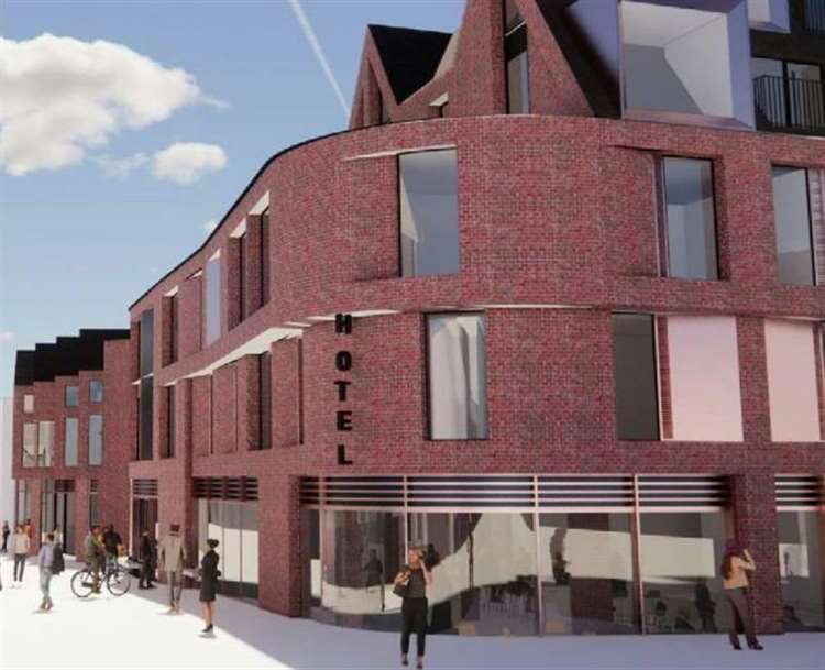 Hotel Plans Revealed For Ashford Town Centre As Six Shops Face Demolition