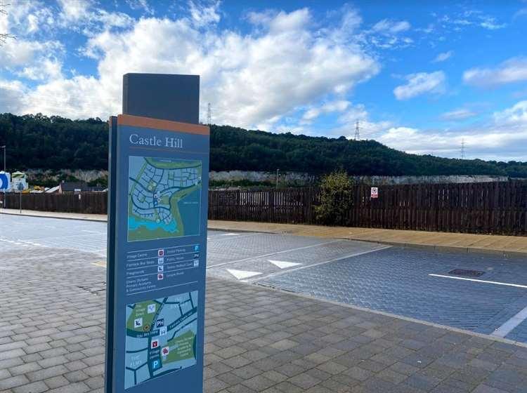 Castle Hill is built on the Eastern quarry in Ebbsfleet