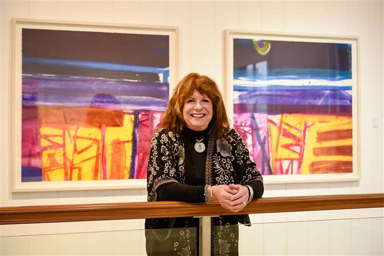 Artist Barbara Rae holds a major art exhibition at Linden Hall Studio in Deal