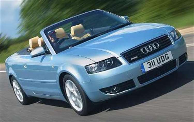 Test Drive Audi A4 Cabriolet 18t