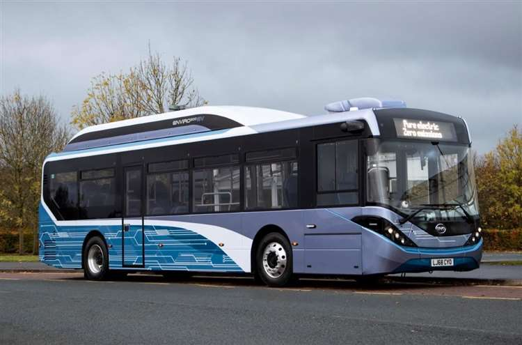 Canterbury park and ride to trial electric bus
