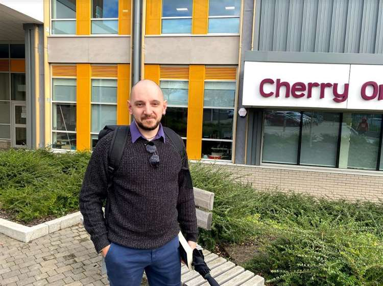 Stefano Spano's son goes to Cherry Orchard Primary School