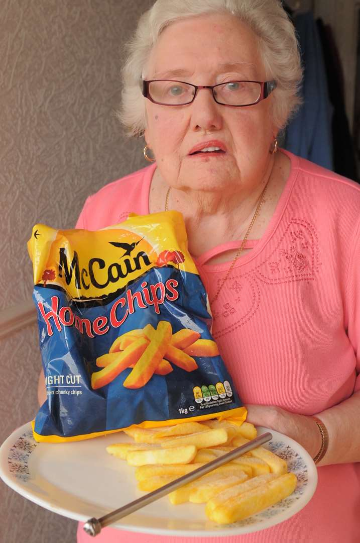McCain oven chips bring bolt out of the blue for Dartford pensioner