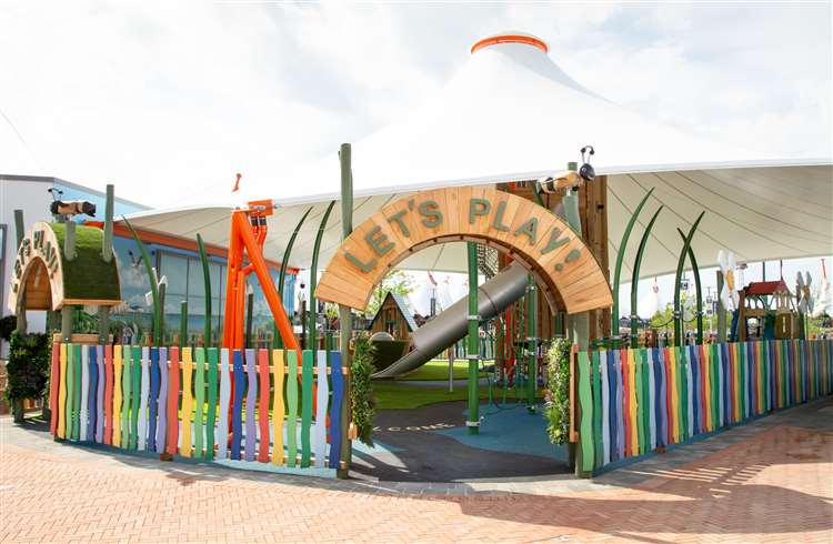 The £400,000 play area opened earlier this year