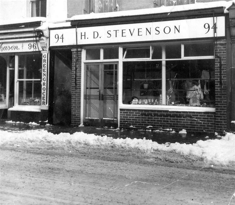 The old butcher's shop that John's father owned. Photo: Red 5 Films