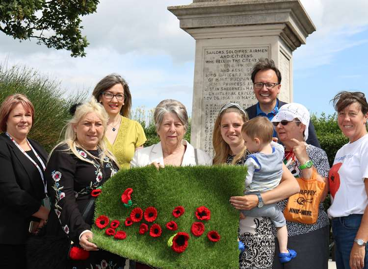 Knitters needed to turn Swale red for Poppy Day