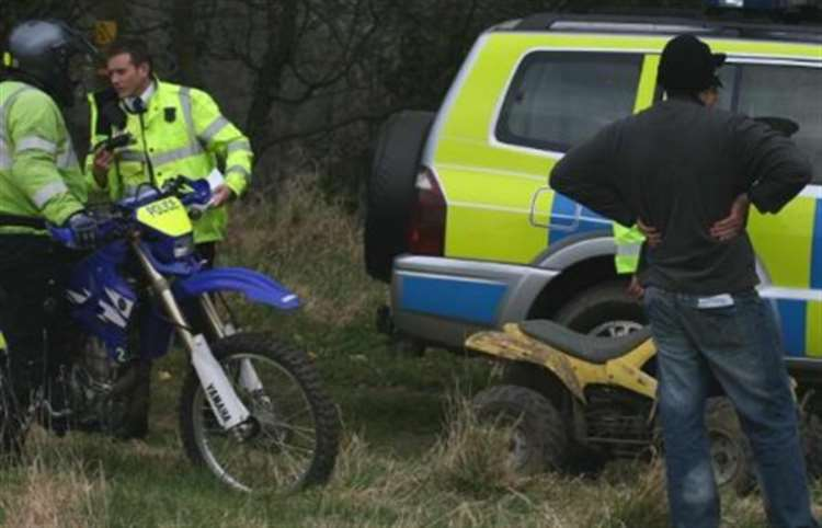 Nuisance motorcycles' seized in police crackdown