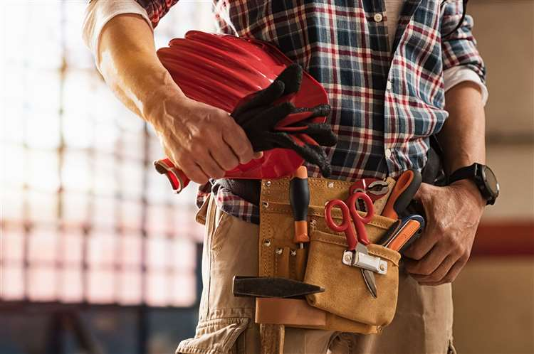 Maybe it's time to be hands on and do some home improvement. Picture: iStock/PA.