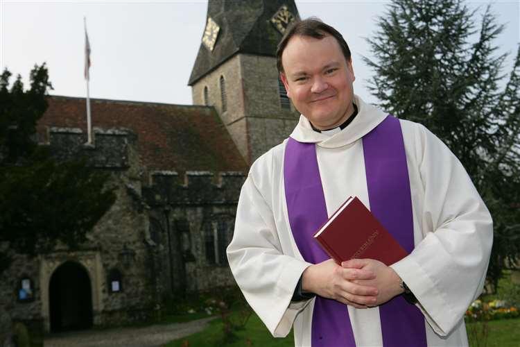 Rev Paul White. Picture: Martin Apps