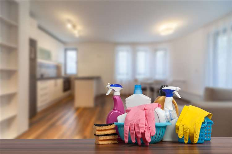 Treat your home to a deep clean. Picture: PA Photo/iStock.