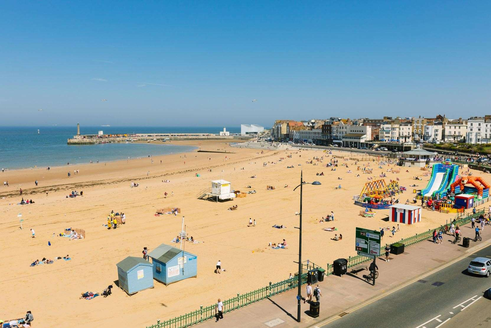 Margate will host a new site-specific artwork exploring the relationship of the coastline as part of the England Creative Coast. Picture: Visit Thanet (13686482)