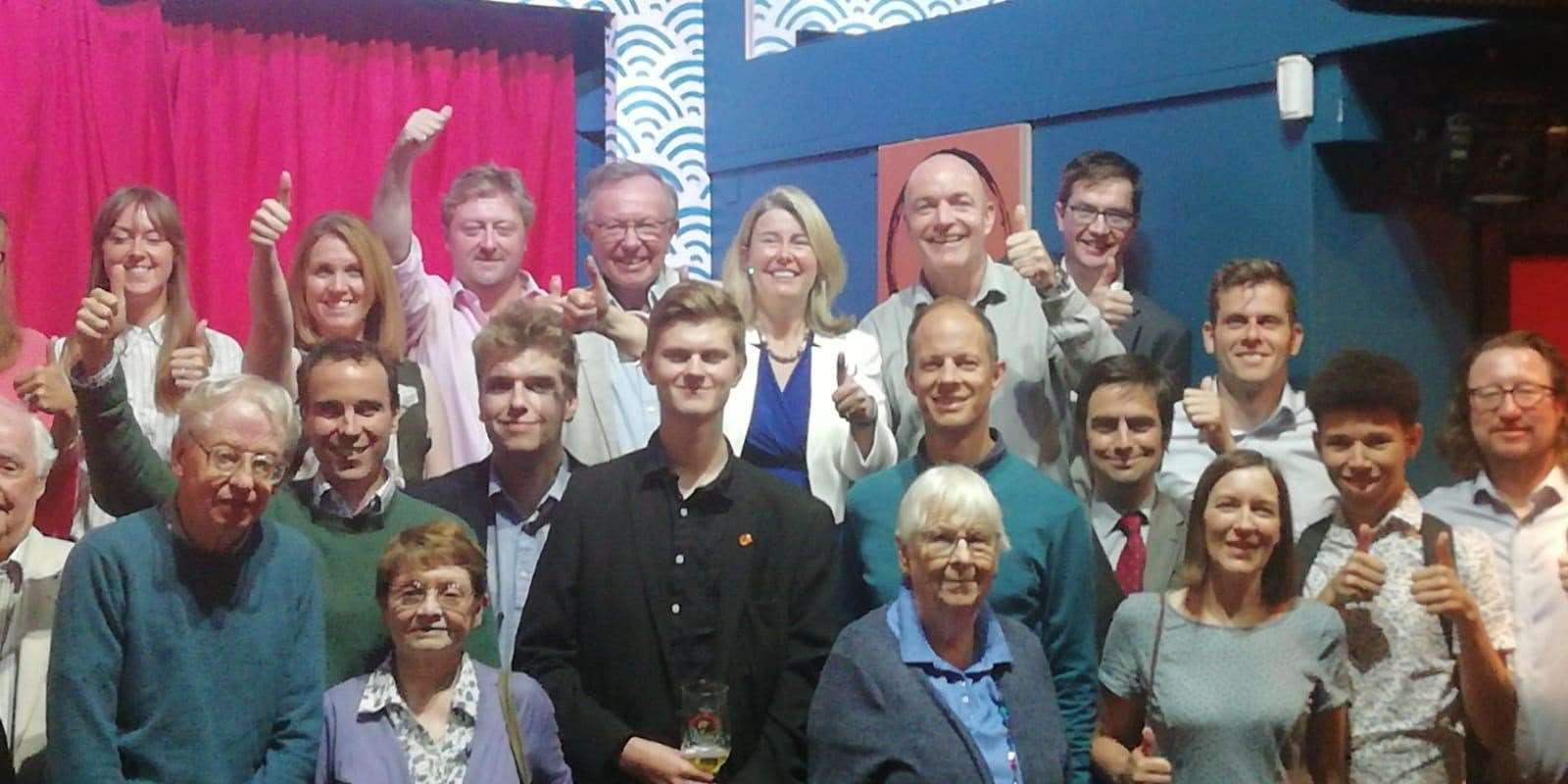 Anna Firth with Canterbury Conservative members (14608580)
