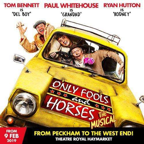 Lovely Jubbly! You can now catch Only Fools and Horses at the West End.