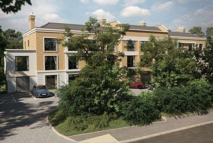How the new St Michaels care home off the A28 could look