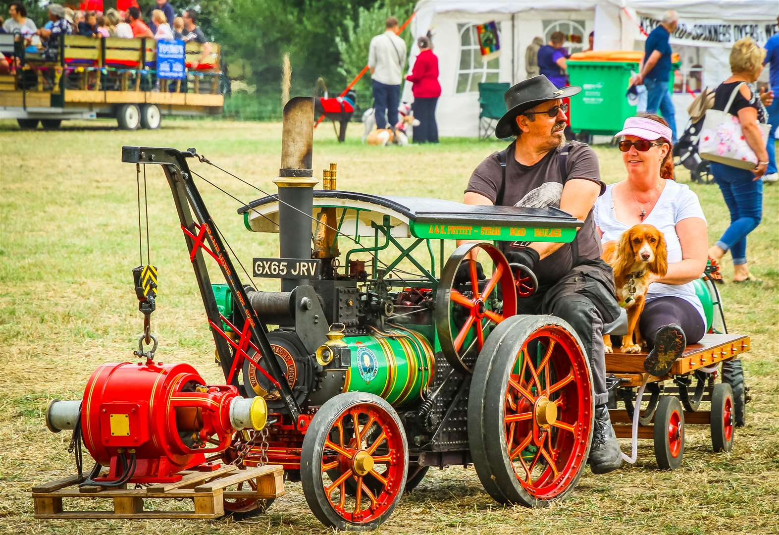 More than 200 tractors will be at the Biddenden Tractorfest this weekend