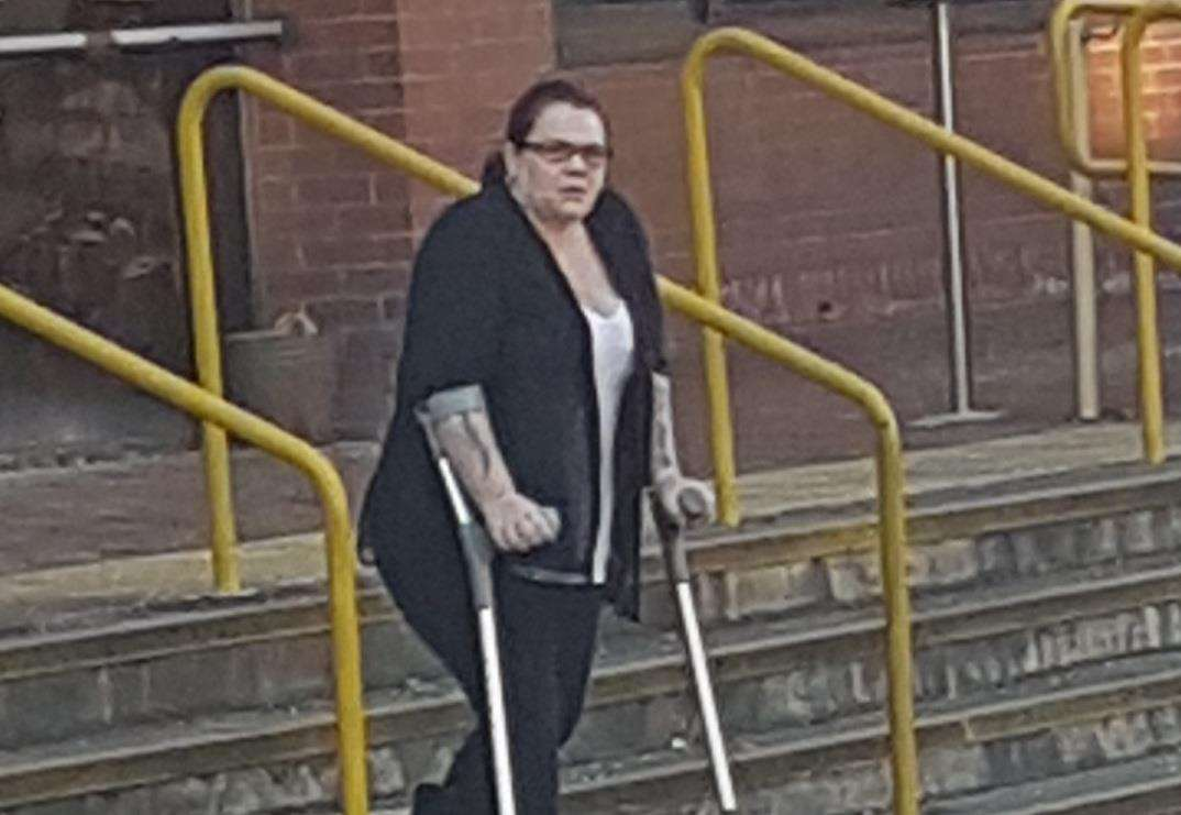 Benefit Cheat Layla Leach In Court After Working Out At Ashford International Hotel And Anytime Fitness