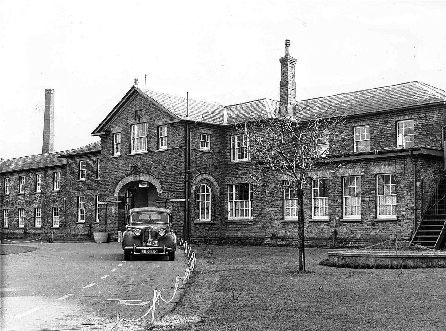Linton Hospital in 1964, formerly one of Maidstone's main workhouses. Picture: Images of Maidstone