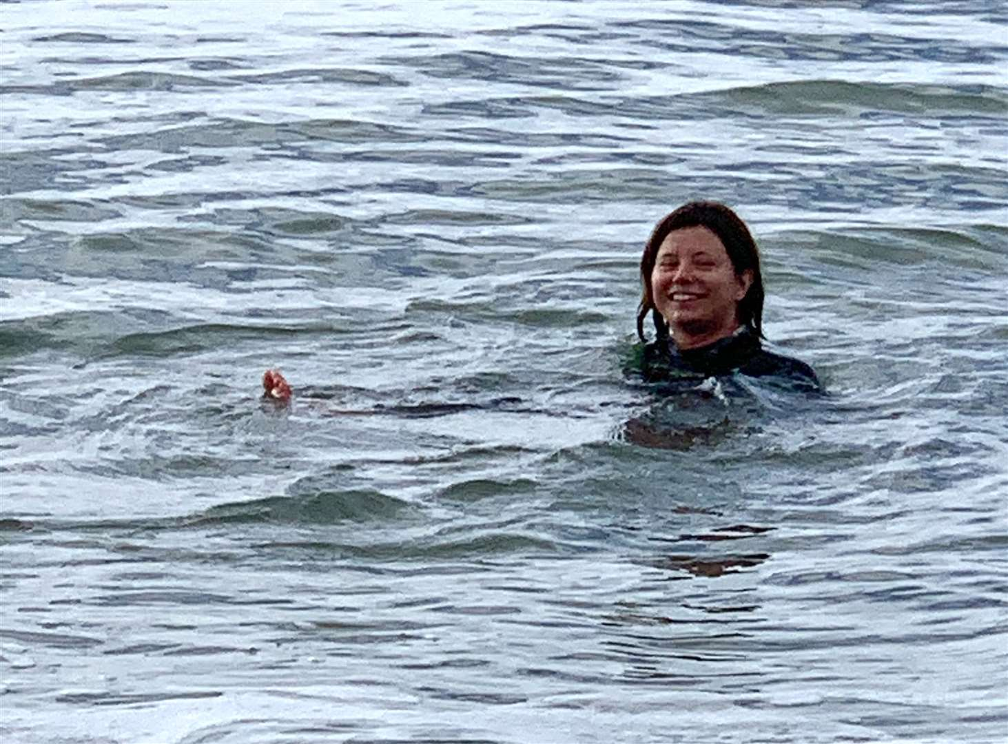 Kirsty Hogben completed a year-long challenge to swim in the sea every day. Kate Noble Photography (37934708)