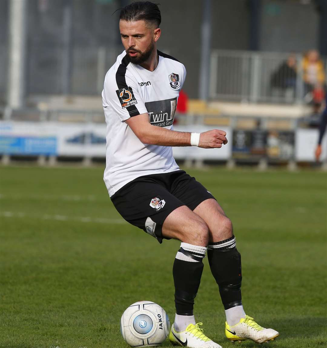 Ben Greenhalgh has been released by Dartford. Picture: Andy Jones
