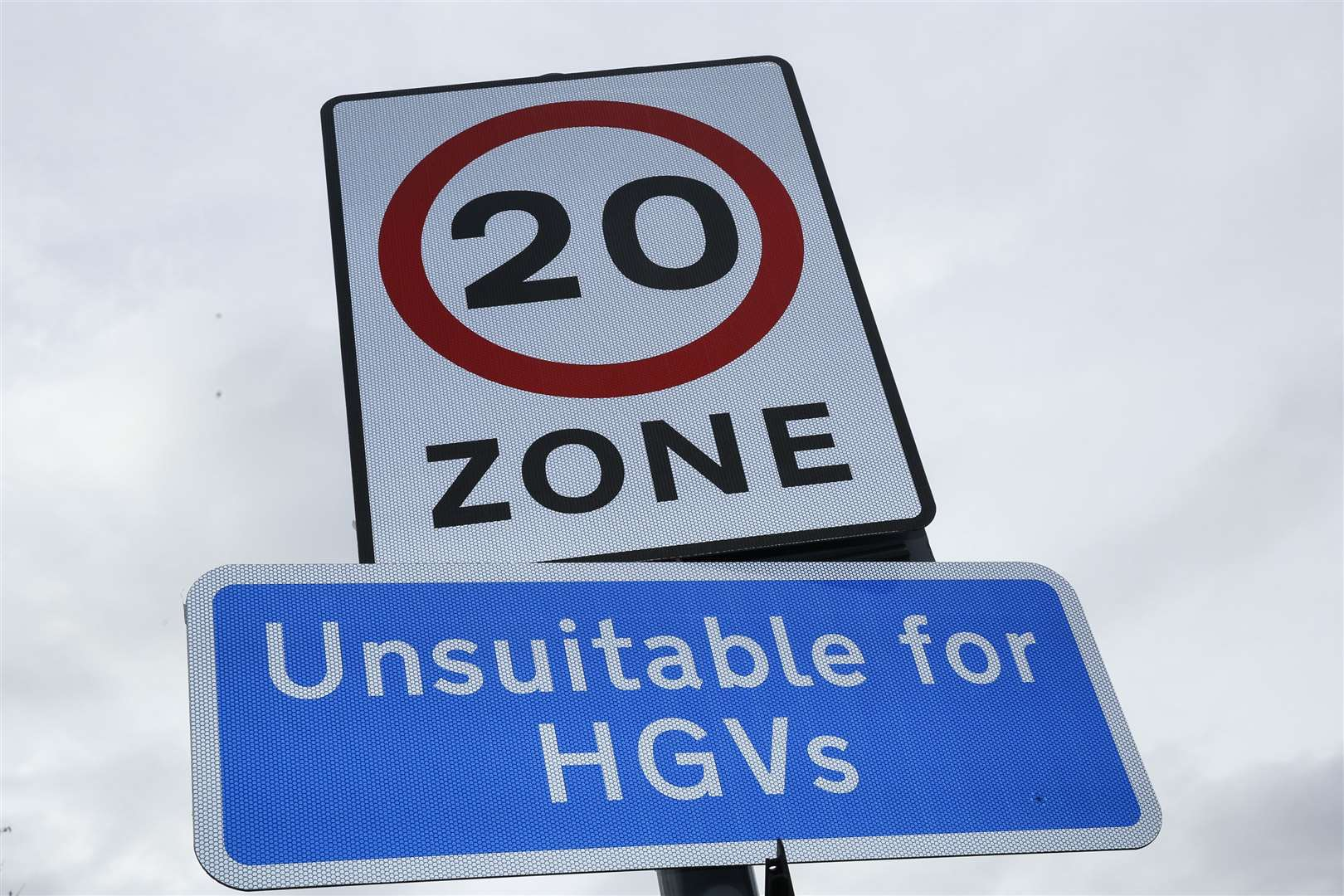 New 20mph speed limit signs are going up all over