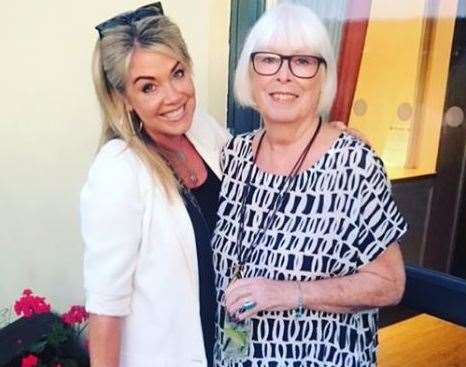 Lucy Alexander and her mum Kay. Picture: Lucy Alexander - Instagram