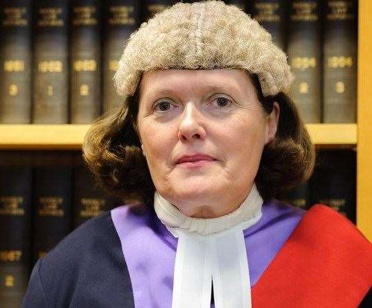 Judge Adele Williams jailed Evans for three-and-a-half years