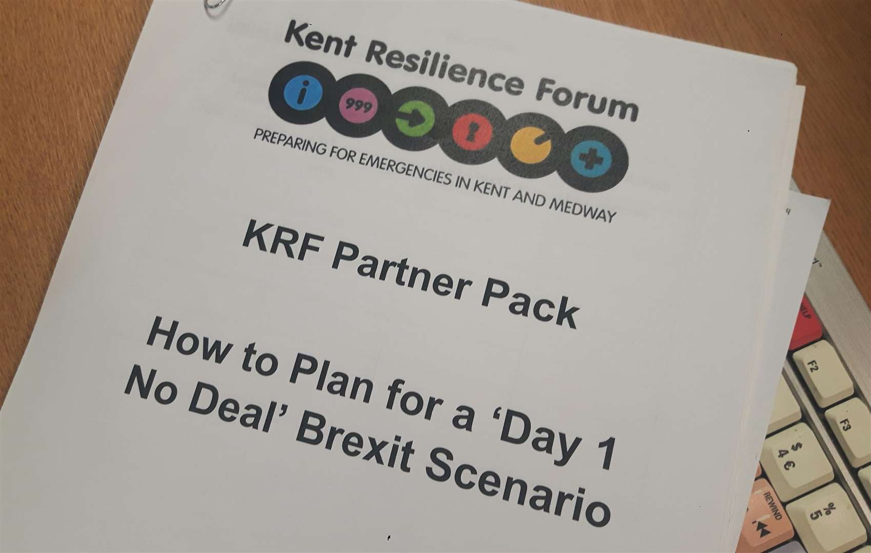 The Kent Resilience Forum report containing guidance from the Department for Exiting the EU(6761178)