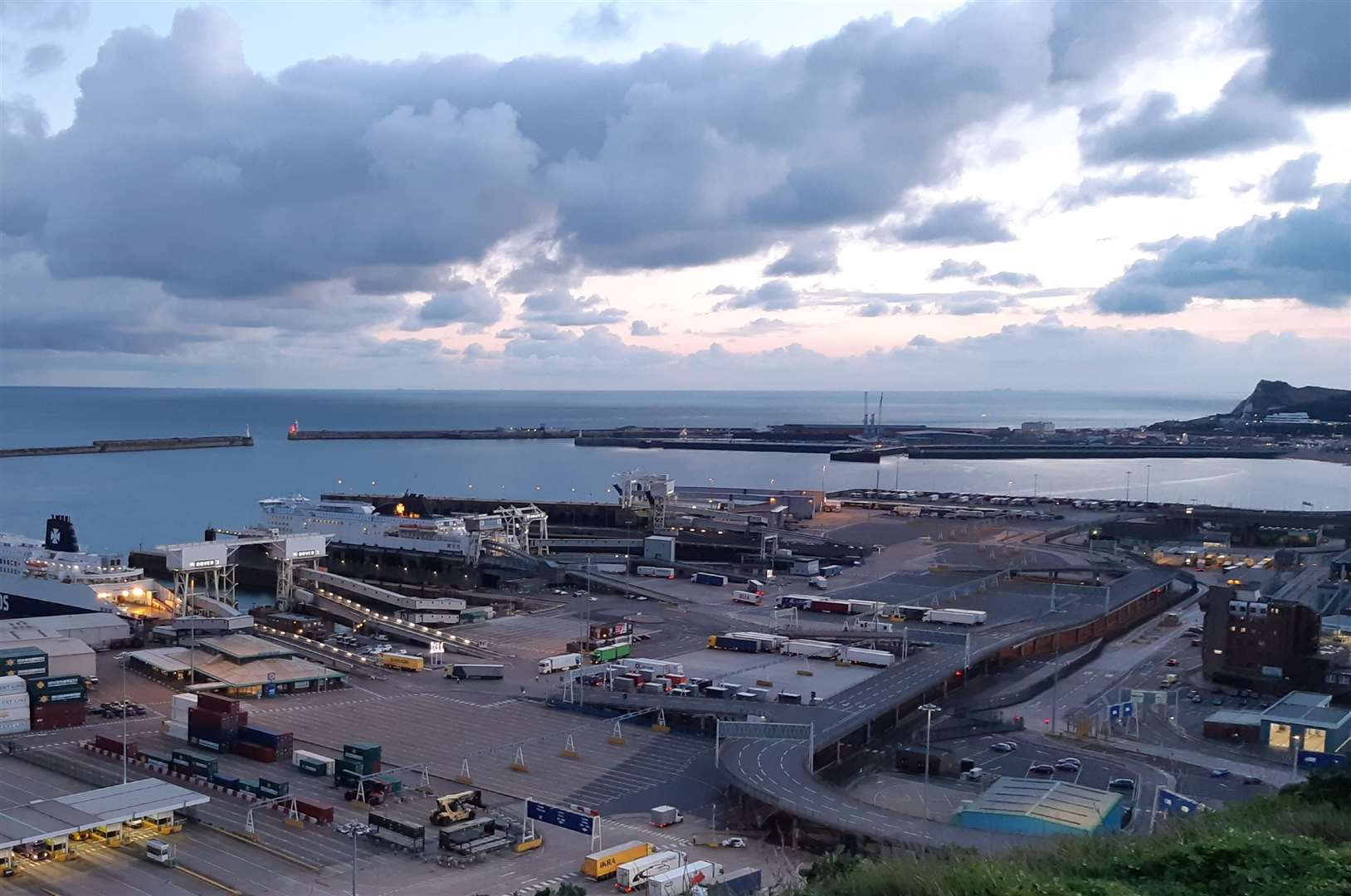 Dover Eastern Docks. The port authority says the Brexit delays gives it more time to prepare (18124587)