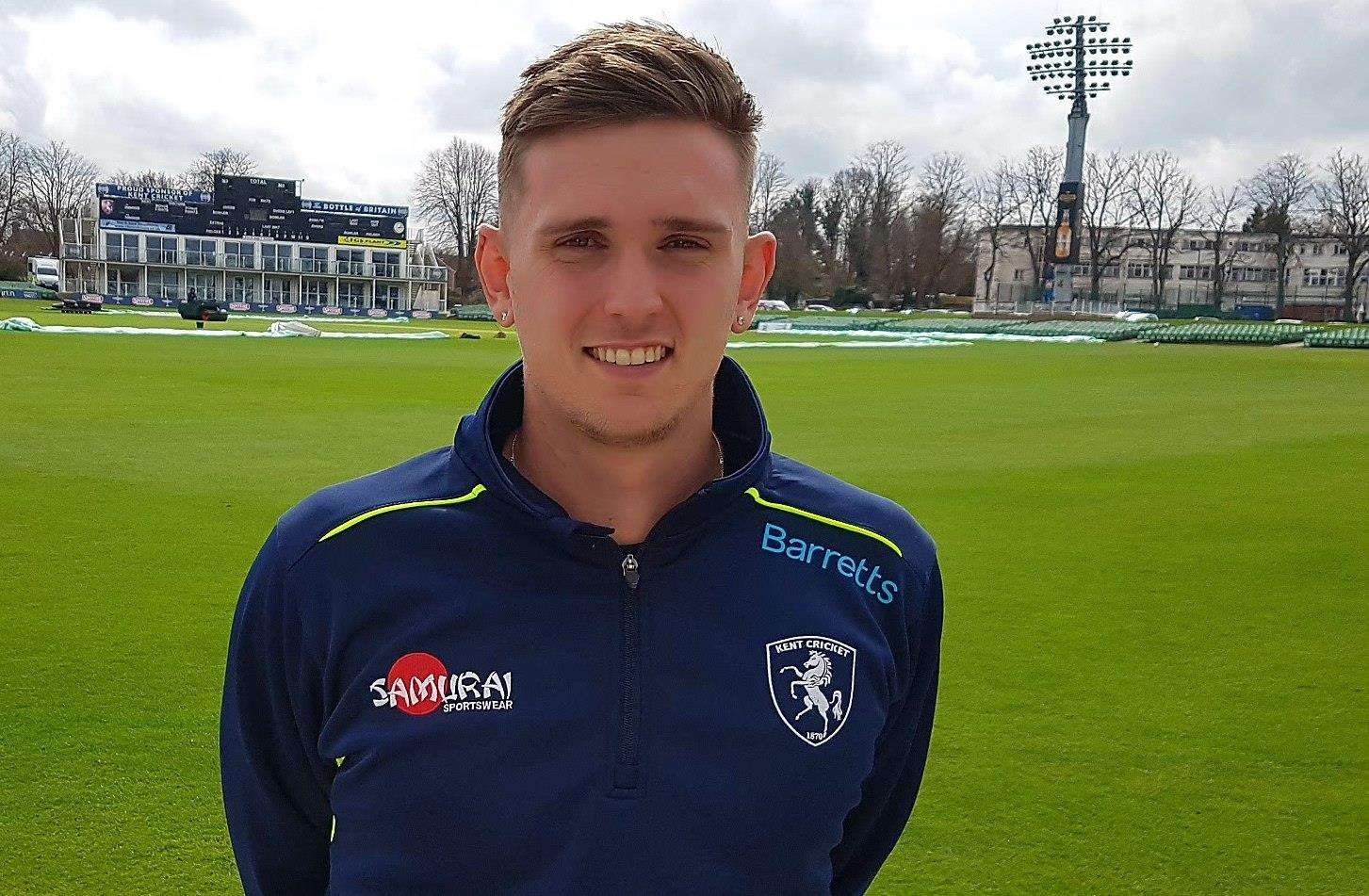Harry Podmore Picture: Kent Cricket