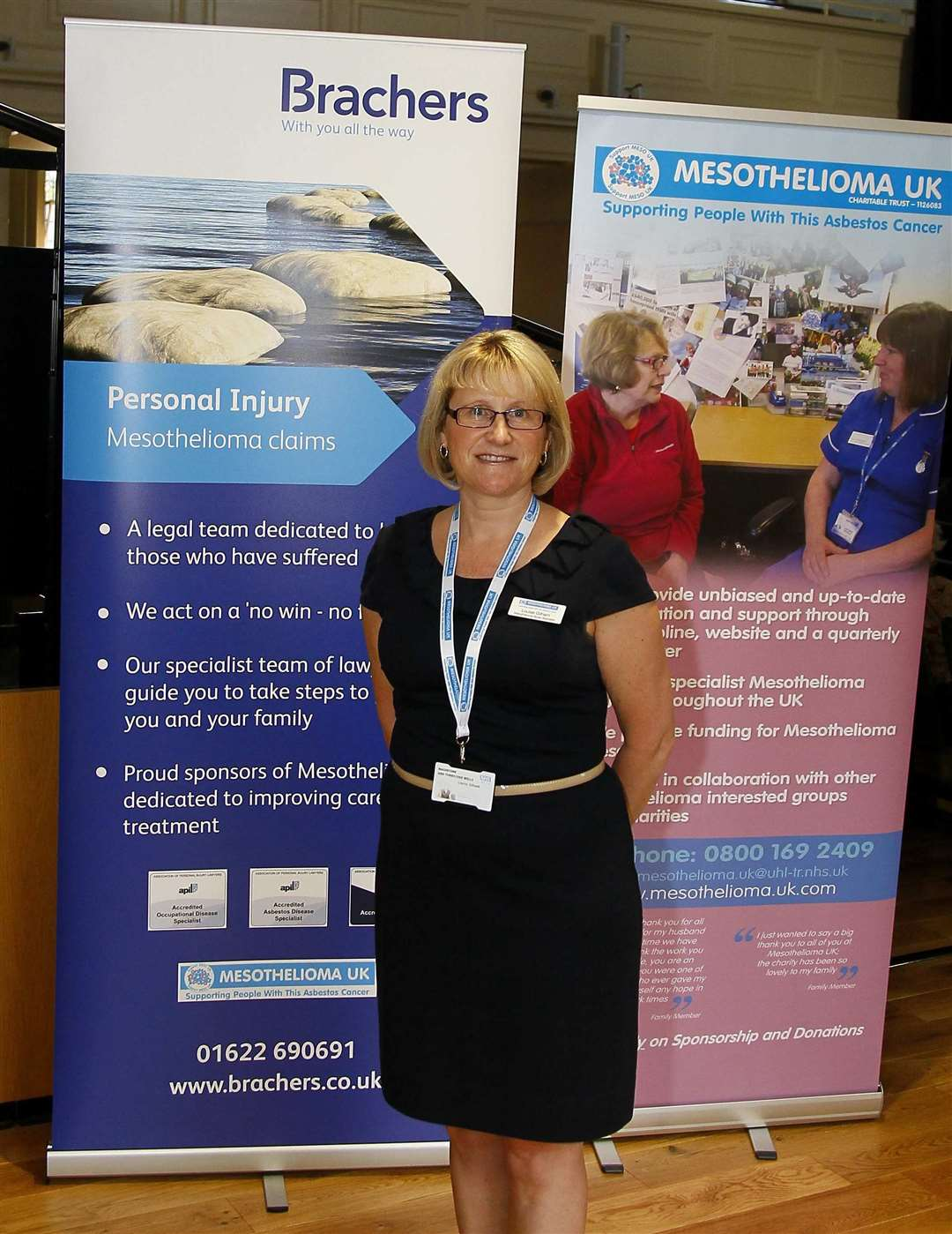 The Annual Action Mesothelioma Day, was attended by Louise Gilham, Mesothelioma clinical nurse specialist for Kent.