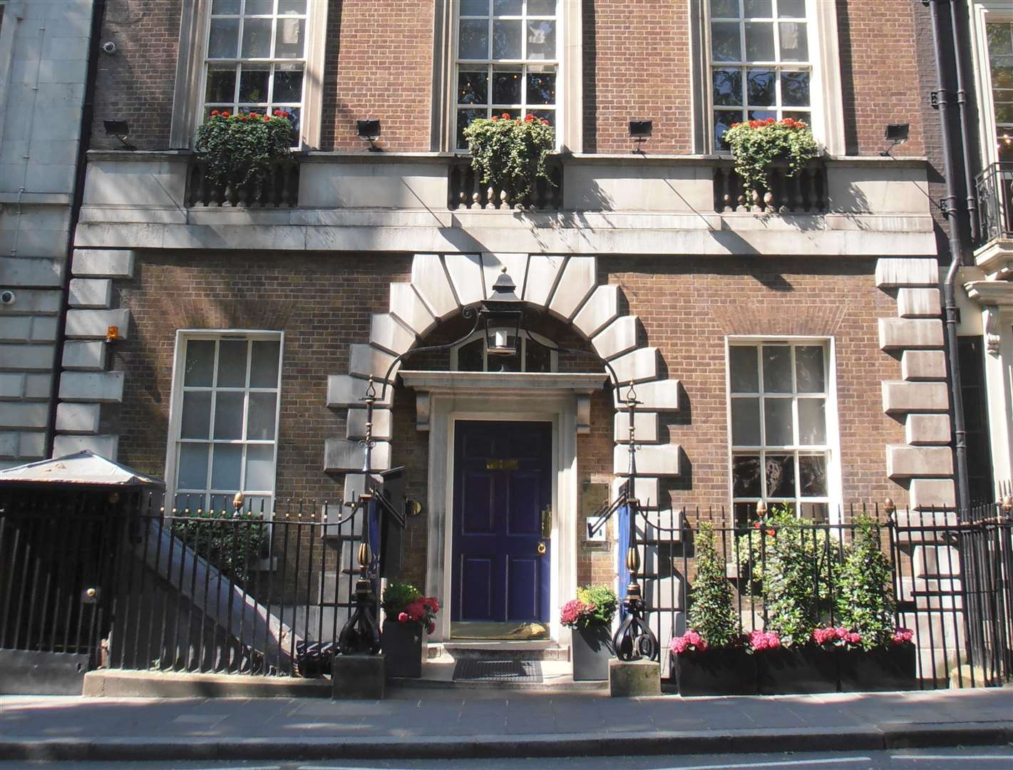 The Clermont Club's original home in Mayfair