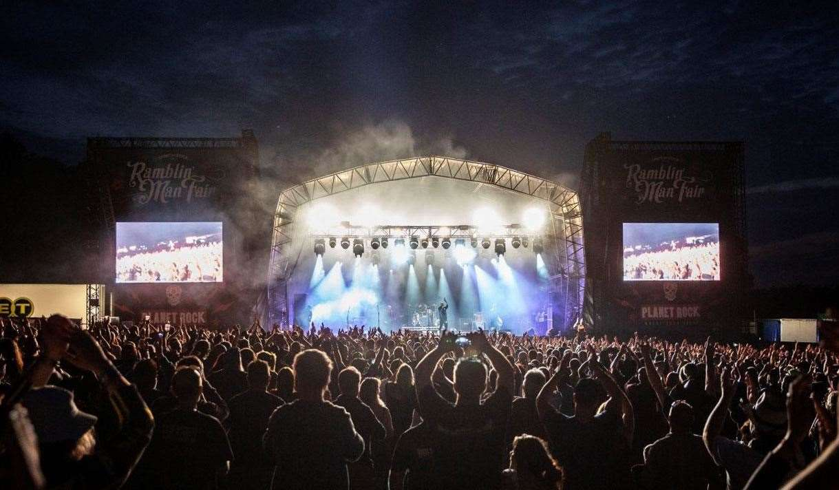Ramblin' Man Fair in Mote Park, Maidstone will now be held next year