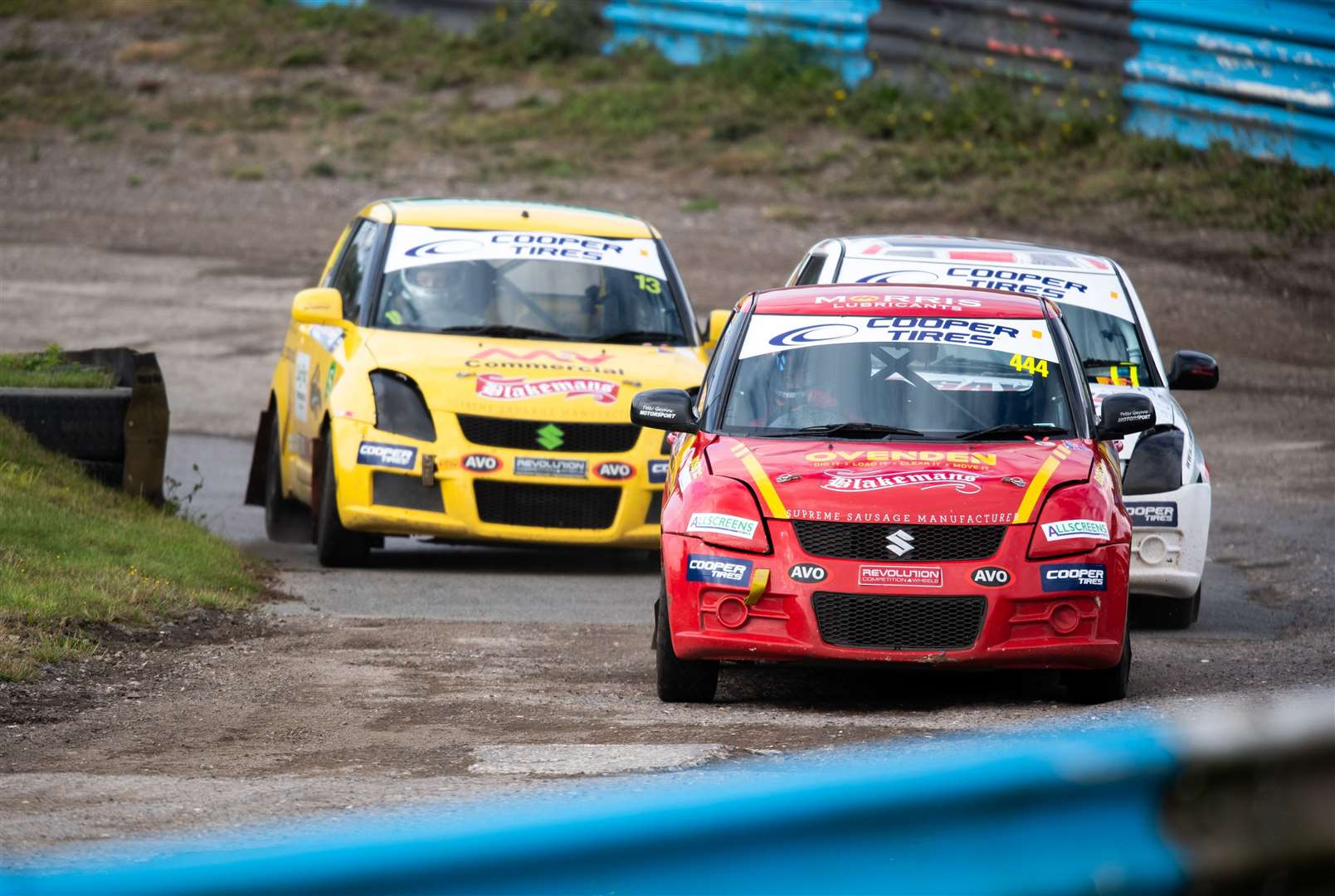 Ovenden is leading the Motorsport UK Junior Rallycross Championship. Picture: 5 Nations BRX