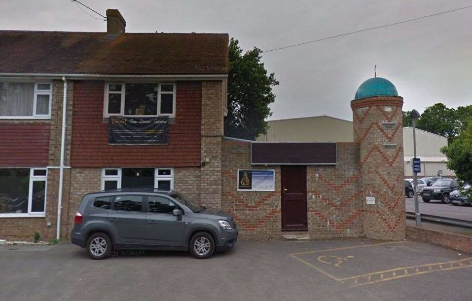 Canterbury Mosque. Picture: Google