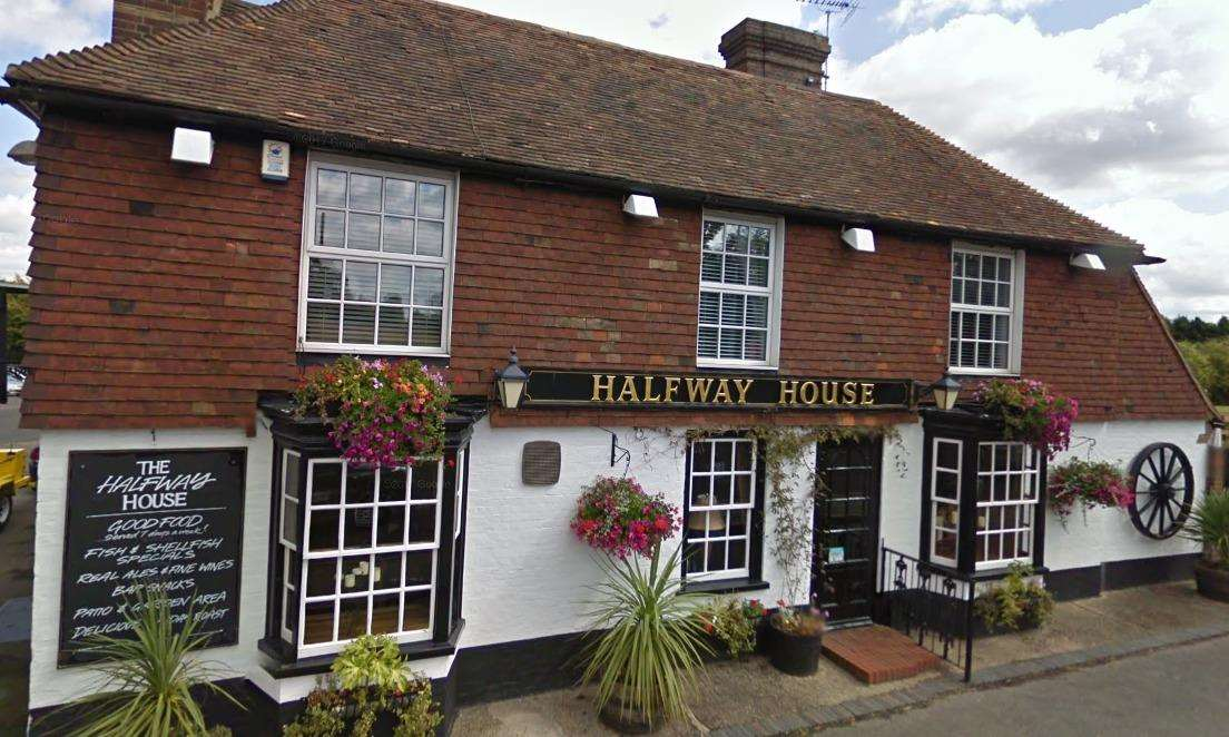 The Halfway House in Challock has received a five-star rating