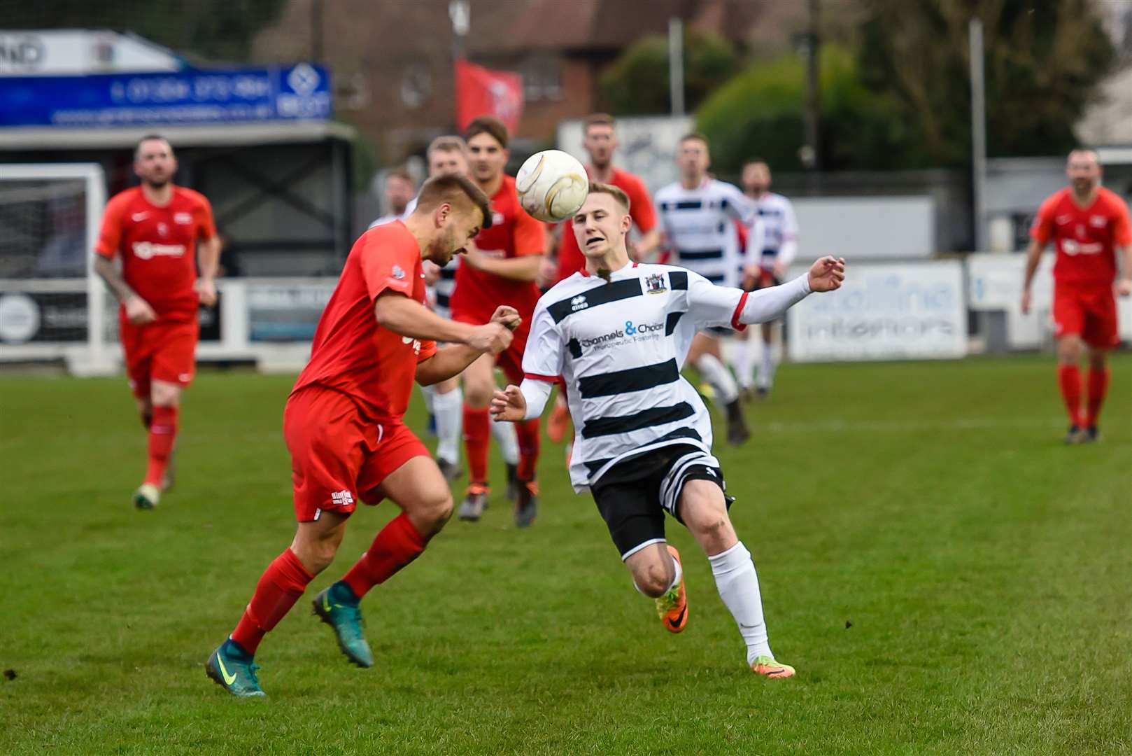 Deal Town are up against Binfield again in the FA Vase Picture: Alan Langley