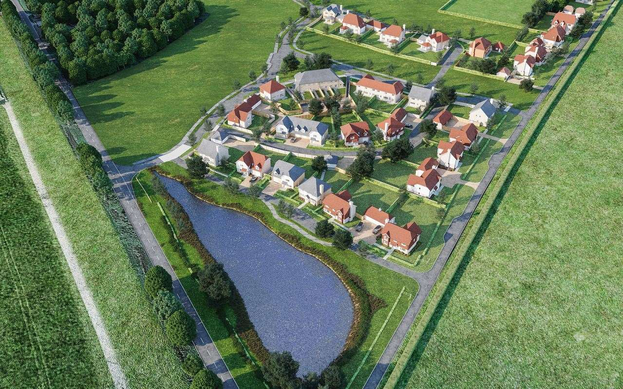 The Hamlet by Jarvis Homes will be at Chilmington near Ashford